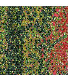 Obraz Zielony las o zmierzchu (panorama)