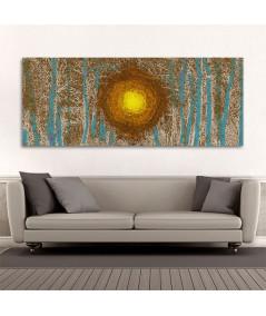 Obraz malowany las Niebem malowany las