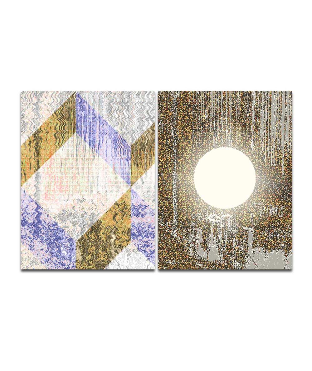 Obrazy abstrakcyjne na ścianę Księżycowe obrazy