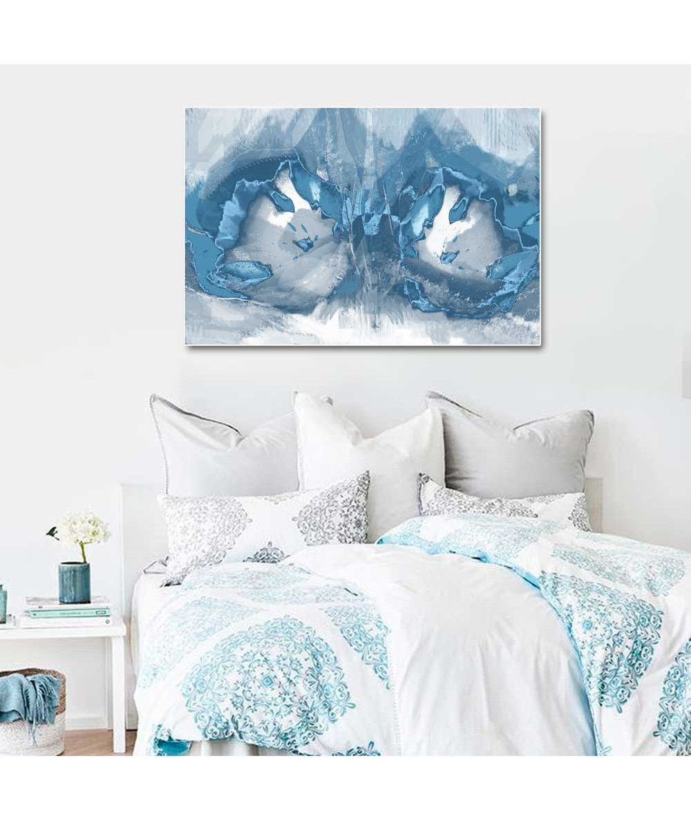 Niebieska grafika do sypialni Niebieska fantazja