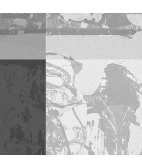 Grafika szara na ścianę Szara grafika
