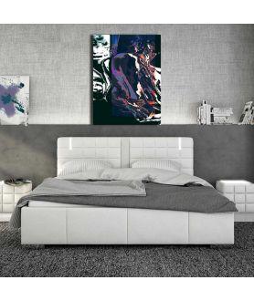Obrazy abstrakcyjne - Nowoczesna abstrakcja Ogień nocy
