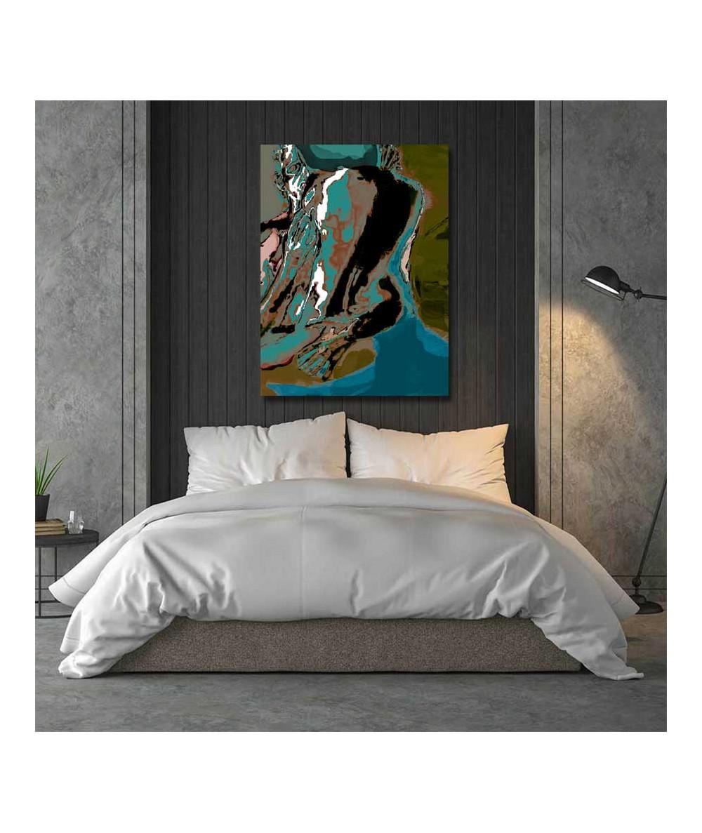 Abstrakcja obraz nowoczesny Zmysły nocy