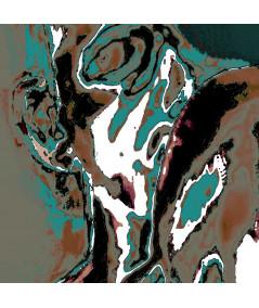 Obrazy abstrakcyjne - Abstrakcja obraz nowoczesny Zmysły nocy