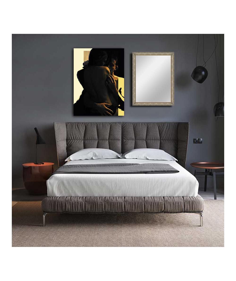 Obrazy akty Akt par obraz nad łóżko Wielka miłość
