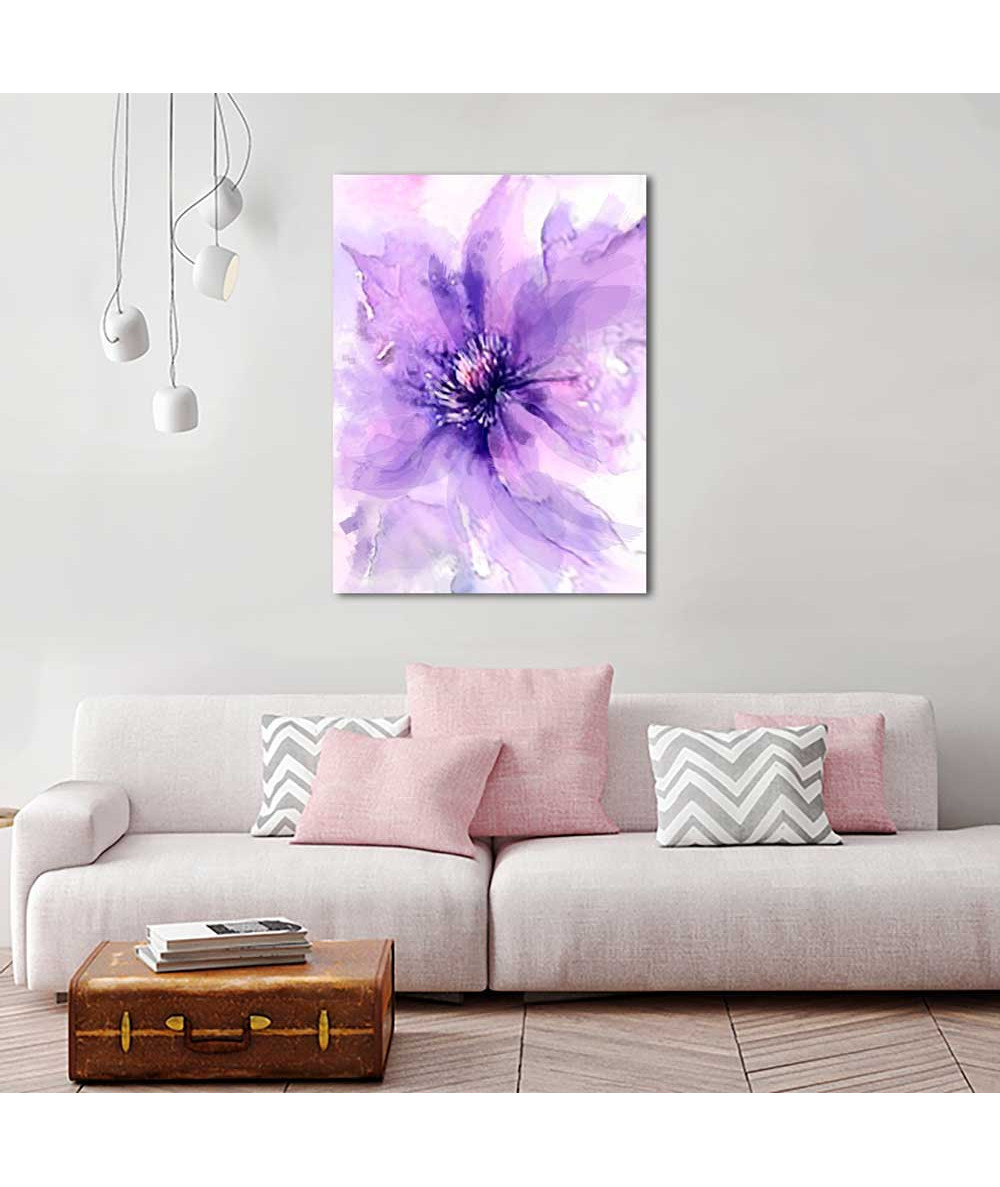 Obraz fioletowy na płótnie...
