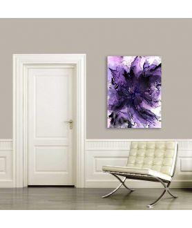 Obraz z fioletem nowoczesny Fioletowa wolta