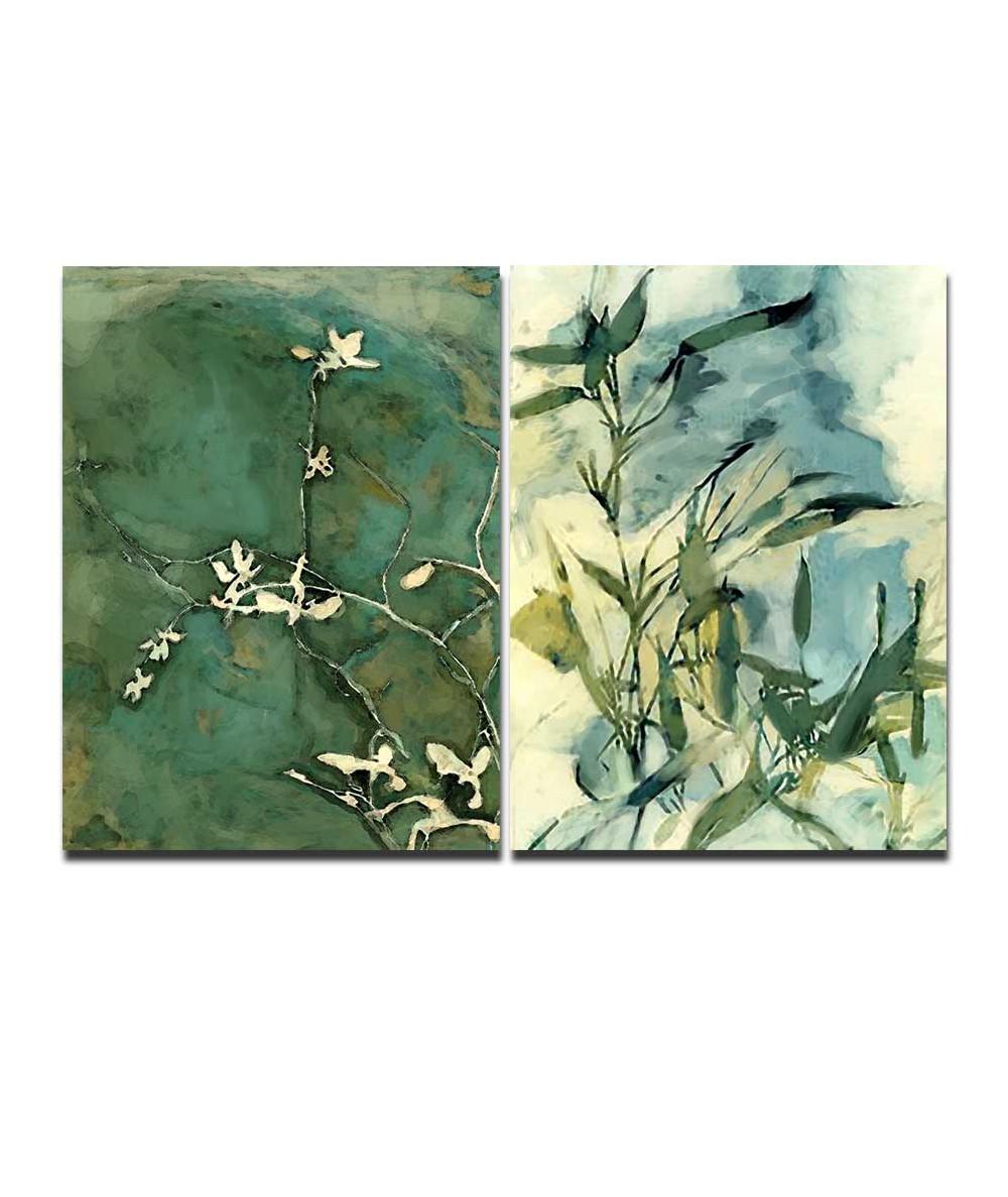 Obrazy z motywem liści Wspomnienie lata