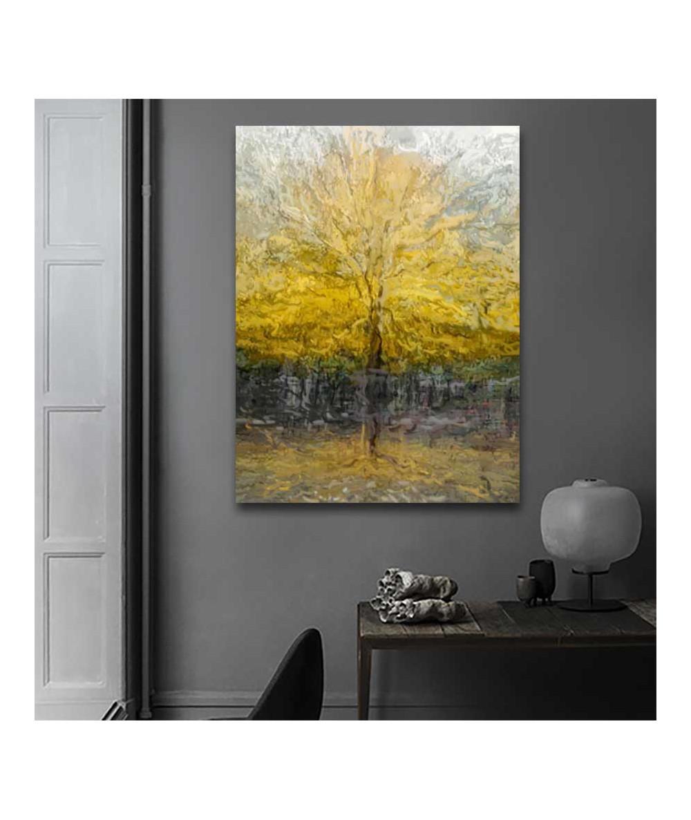 Obrazy drzewo - Obraz na płótnie drzewo Drzewo pełni