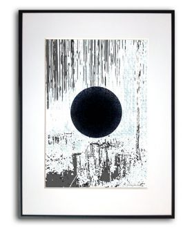 Grafiki w ramie na ścianę Trzy księżyce