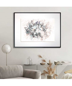 Magnolie grafika w ramie Bukiet magnolii