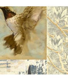 Obraz natura na ścianę Cichy lot kolibra