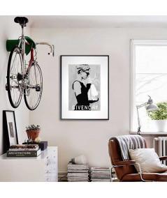 Plakat Audrey Hepburn Suknia Givenchy