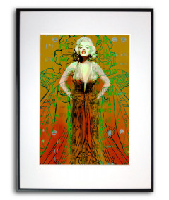 Plakat Marilyn Monroe Suknia Marilyn Monroe