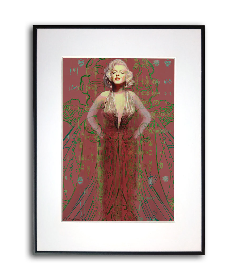 Marilyn Monroe plakat Suknia Marilyn Monroe no 2