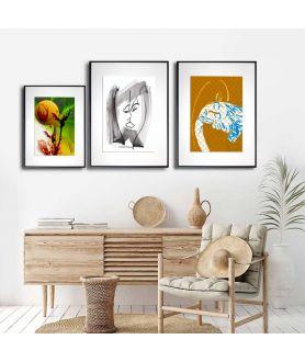 Plakaty do salonu zestaw