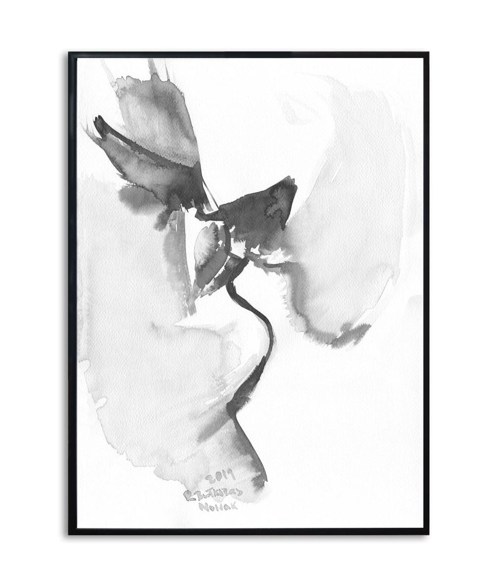 Plakat w ramie na ścianę Grafika pocałunek 15