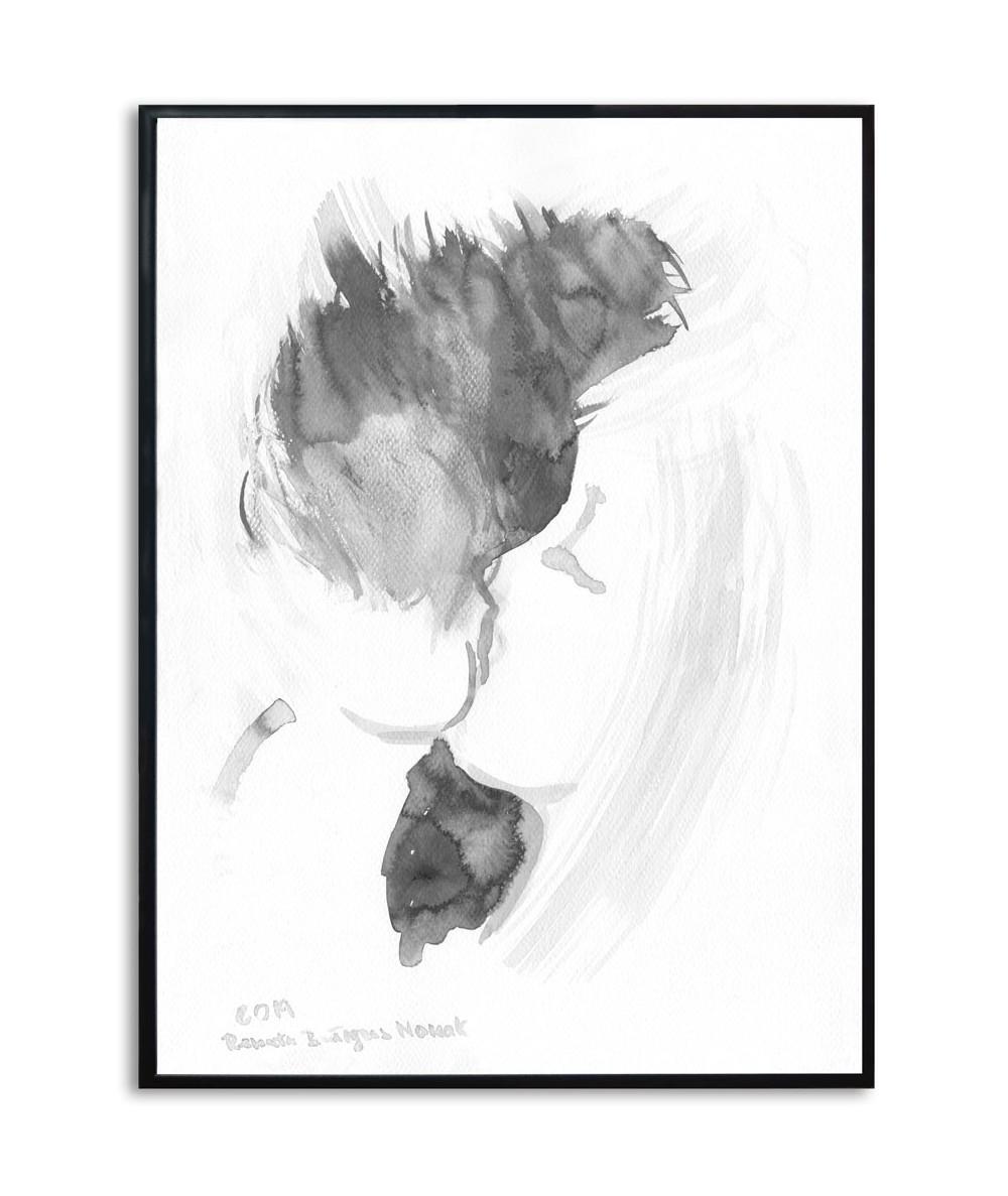 Miłość plakat na ścianę Grafika pocałunek 14