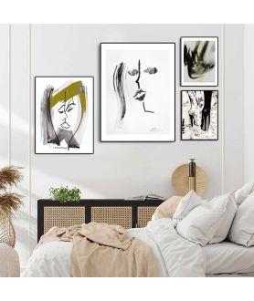 Plakaty minimalistyczne w zestawie - Grafiki Obrazy