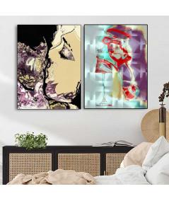 Dwa plakaty do sypialni