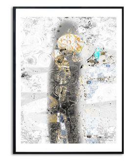 Grafika plakat na ścianę W cieniu miłości