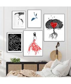 Plakaty grafiki na zamówienie - Grafiki Obrazy