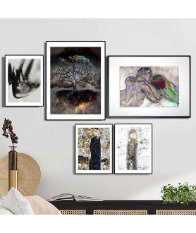 Plakaty artystyczne grafika - Grafiki Obrazy