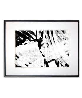 Plakat nowoczesny na ścianę Czarno biała miłość