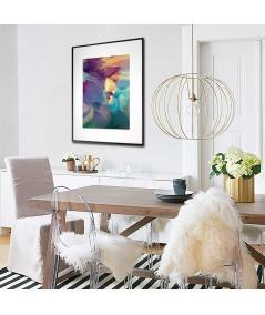Plakat abstrakcja na ścianę  do salonu, jadalni, przedpokoju - Grafiki Obrazy