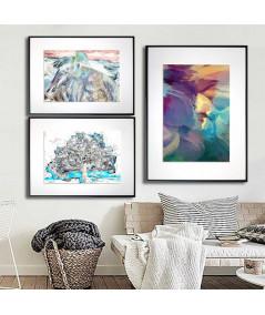 Zestaw plakatów na ścianę - Grafiki Obrazy