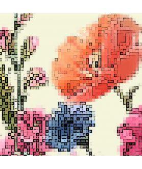 Fragment plakatu Łączka z kwiatami łąkowymi