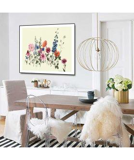 Plakat łąka na ścianie w jadalni - zamów w Grafiki Obrazy