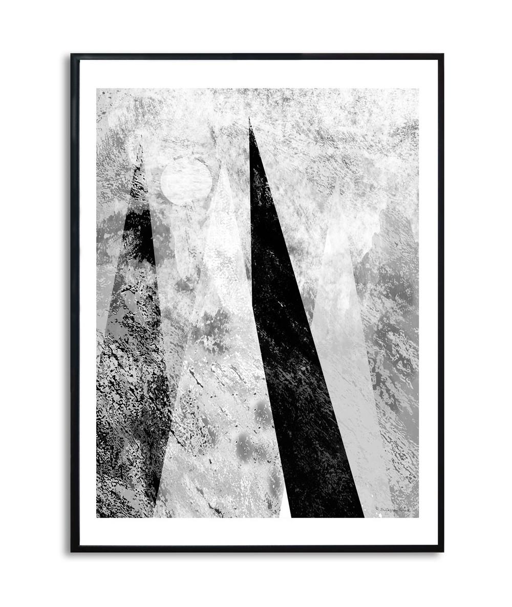 Plakat na ścianę - Spiące góry pionowe