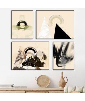 Plakaty beżowe w Grafiki Obrazy
