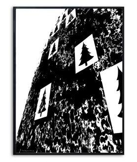 Grafika góry w ramie Simplicity no. 63