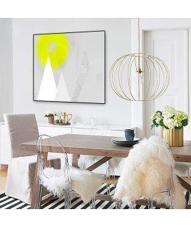 Plakat do salonu Jasne góry wiosną - Grafiki Obrazy