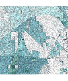 Fragment grafiki Chłód gór