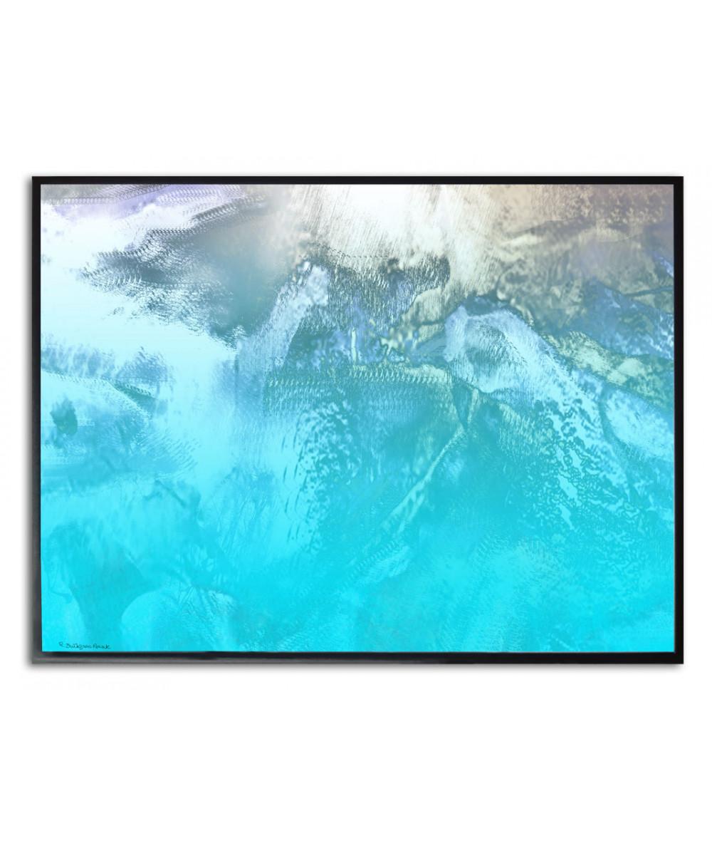 Plakat marynistyczny na ścianę Tropikalana wyspa