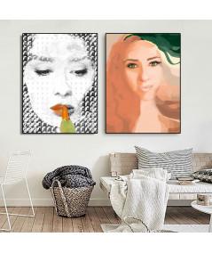 2 plakaty twrze na ścianę - Grafiki Obrazy