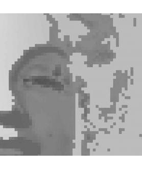Obraz nowoczesny na płótnie Twarz kobiety