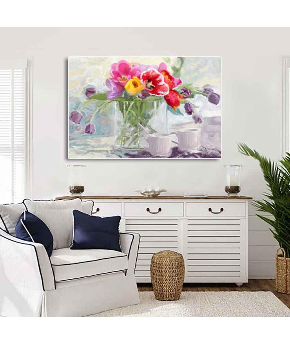 Obraz na ścianę Tulipany w...