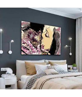Obrazy pocałunek - Obraz na ścianę Miłosne zatracenie (1- częściowy) szeroki