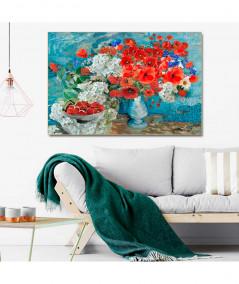 obrazy kwiaty -  Obraz maki w wazonie - Maki dla Vincenta van Gogha
