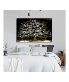 Obrazy drzewo - Obraz złote drzewo Księżycowe drzewo