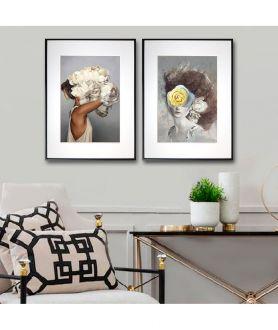 Dwa plakaty KOBIETA - zobacz w Grafiki Obrazy