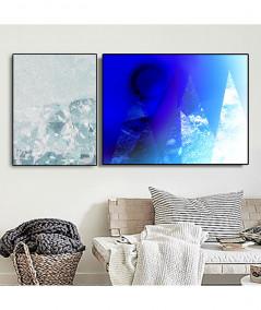 Plakaty góry zestaw - Grafiki Obrazy