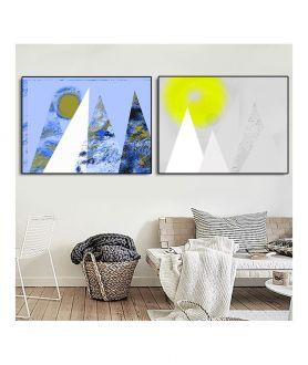 Plakaty do salonu góry - Grafiki Obrazy