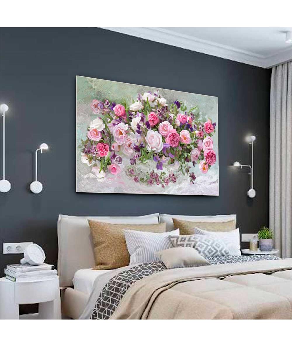 Malarstwo kwiaty Róże w...