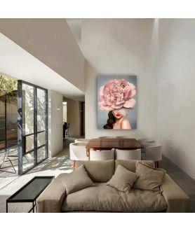 Obrazy kobieta - Obraz na płótnie na ścianę - Słodka Amy