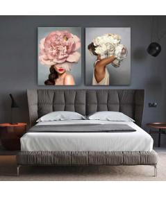 Obrazy kobieta - Obraz na płótnie na ścianę - Kobieta Amy